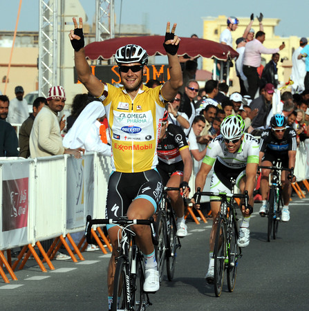 Tom Boonen wins stage four after attacking in the last kilometres with Fabian Cancellara, Tom Veelers and Juan Antonio Flecha...