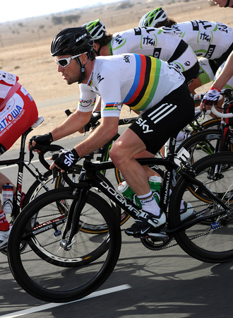 Cavendish has a chance to regain his composure now, the World Champion is said to be still a bit sick...