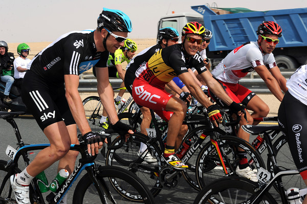 No-one's too interested in the escape - Ian Stannard enjoys a chat with Gilbert and Blythe...