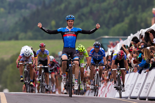 No - The group re-integrated on the descent and Farrar has takin a convincing win in Telluride!
