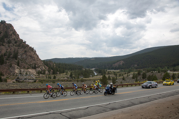 The pace set by Zabriskie in the break has reduced its number to six as they head North from Buena Vista.