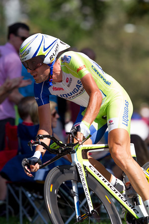 Nibali was on good form - Finishing 7th - 37 seconds back.