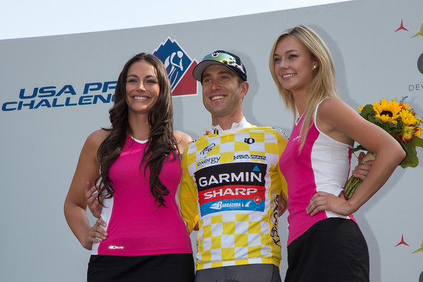 With his stellar ride today - Christian Vandevelde is your 2012 USA Pro Challenge winner!