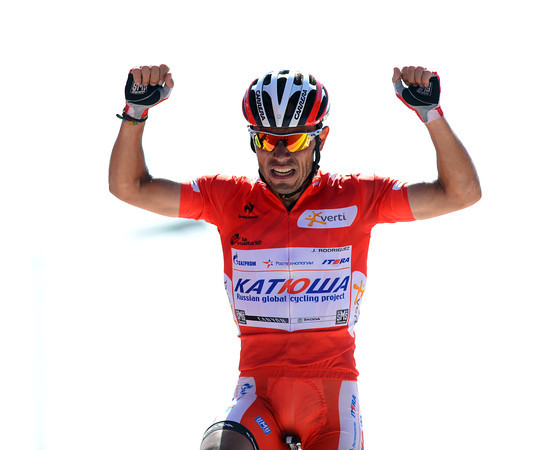 Joachim Rodriguez wins stage twelve and increases his overall lead in the Vuelta..!
