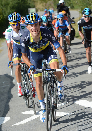 Rafal Majka launches forth, and he has Contador waiting to go as well..!