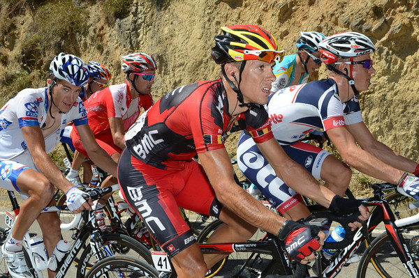 Philippe Gilbert has a different view - he's sweating in the hope of coming good for the Worlds...