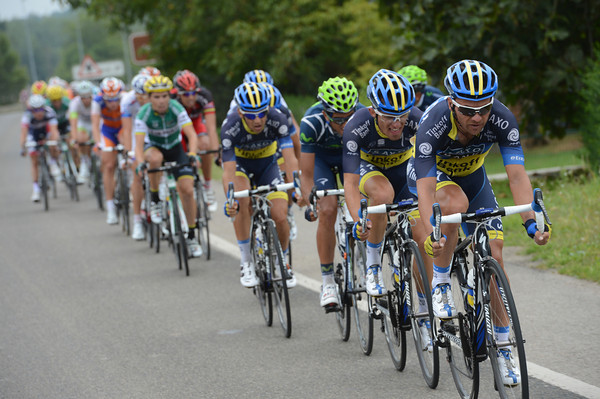 This is what's happpening - Saxo Bank have attacked at the front..!