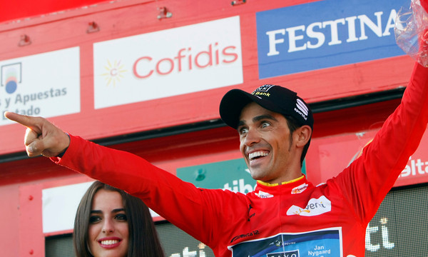 Alberto Contador knows he is one easy day away from winning the 2012 Vuelta a España..!