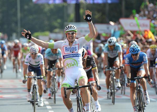 John Degenkolb wins in Madrid - it is his fifth stage-win of the race..!
