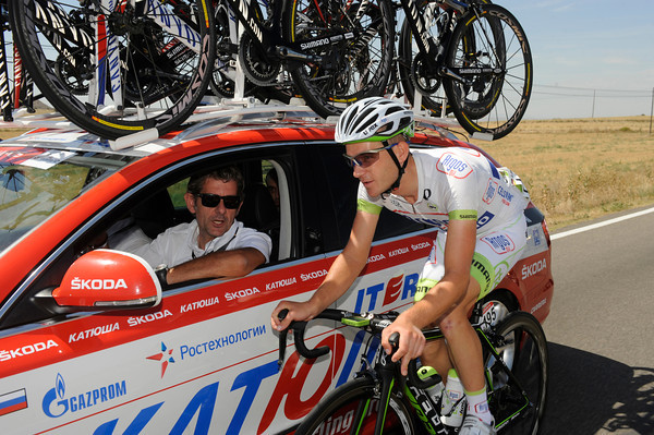 """I'm already spoken for in 2013"" - explains Alexandre Geniez to Katusha's team manager..."