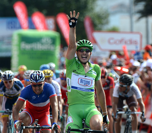 John Degenkolb wins stage ten into Sanxenxo - it's No 4 for the young German..!
