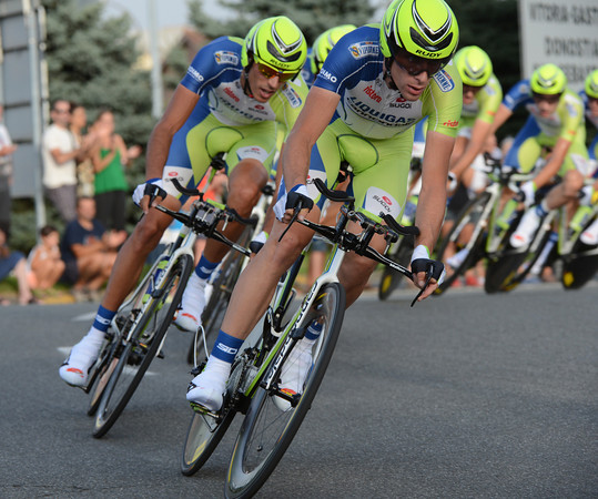 Liquigas looked as good as the team that won in 2011, but in fact they ended in 14th, 41-seconds down...