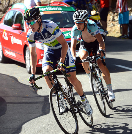 Clarke and Martin have earned the right to win today's stage - but who will it be..?