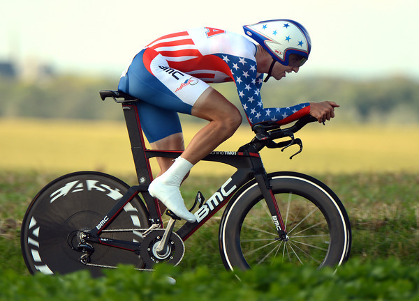 Taylor Phinney rode out of his socks to take the silver medal - but he lost the Gold by less than six-seconds..!