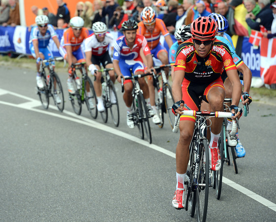 Contador makes his own move on top of the Cauberg - but he's actually paving the way for Alejandro Valverde...