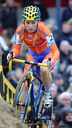 Daphny Van Den Brand is in second place...