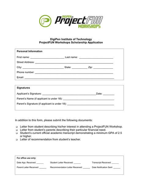 <b>Workshop Scholarship App2010</b><br>