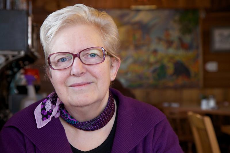 Ellen at the Chuckwagon Cafe II