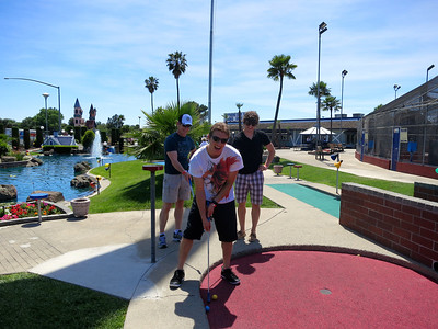 Miniature golf at Scandia