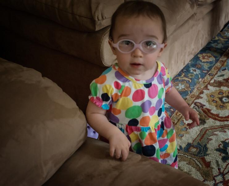 Zatinya Goldstein at 17 months, twin to Cava