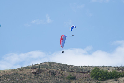 2013-08-24 Golden - Ali and Manu Paragliding, plus