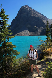 Ellen at Bow Lake II