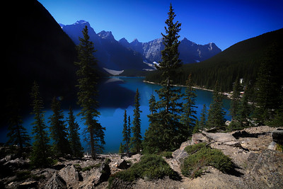 Moraine Lake Deep Blue