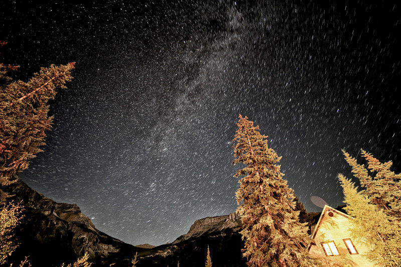 Emerald Lake Star Gazing