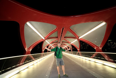 Self Portrait on Peace Bridge