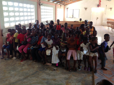 2013-10-15 Haiti School Scholarship Students
