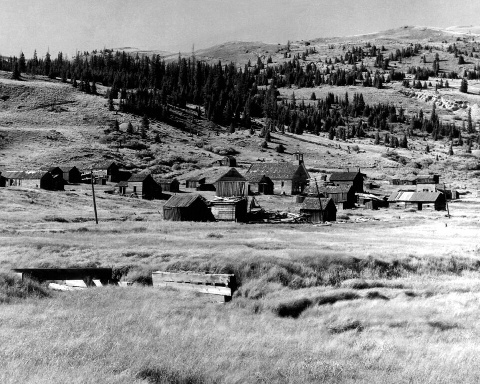 . Arapaho N. F. Ghost Towns. (Photo by H. L. Standley/The Denver Post Archive)