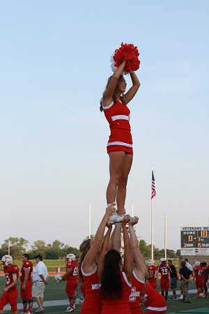 2013-2014 Cheer Game Action