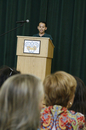 "Gr. 4 ""Speech Contest"""