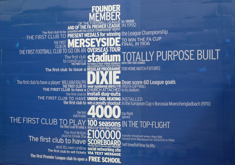 Gate at Goodison Park