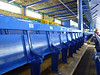 Old wooden seats in Goodison Park