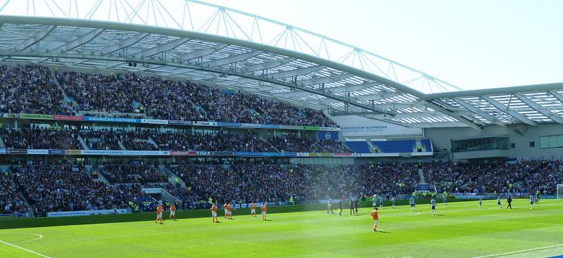 Brighton 6 Blackpool 1