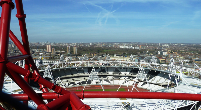 Olympic Park from Orbit - home of West Ham from 2016