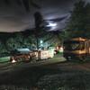 Boone KOA night  partial moon