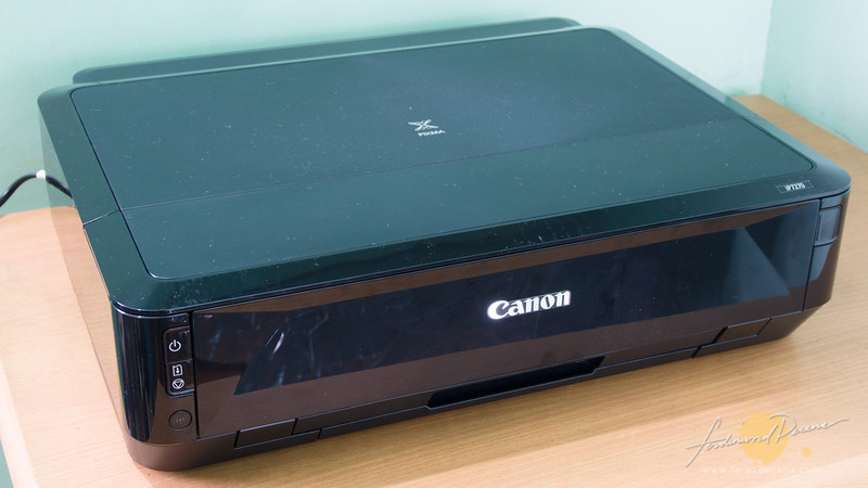 The Canon Pixma Ip7270 is just the right size