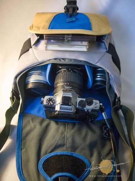 The Crumpler 4M$H Shoulder bag
