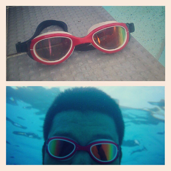 Using the TYR Special Ops Goggles in the pool