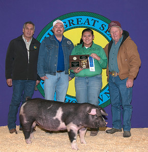 Kallie Battiest of Broken Bow wins Poland Breed Champion