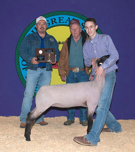 Hadley Bryan of Mulhall wins Market Lamb Champion Senior Showman