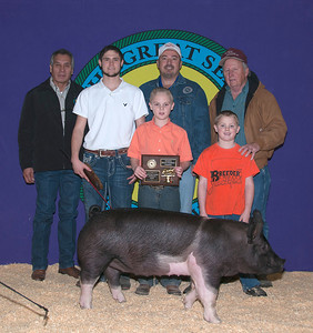 CJ Conner of Tuttle wins Hampshire Reserve Breed Champion