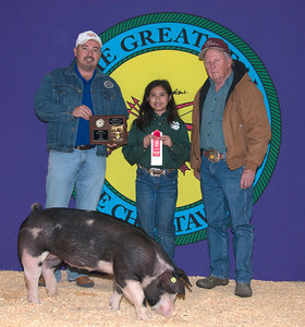Keona Mason of Tishomingo wins Poland Reserve Breed Champion