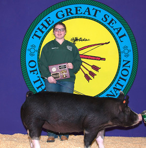 Makayla Crawford of Moss wins Berkshire Reserve Breed Champion