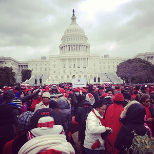2013 DST Suffrage March, Washington, DC