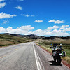 Hwy 64, New Mexico.  Gorgeous road and sky