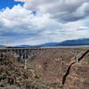 Bridge over the Rio Grande just west of Taos and east of the earthships.