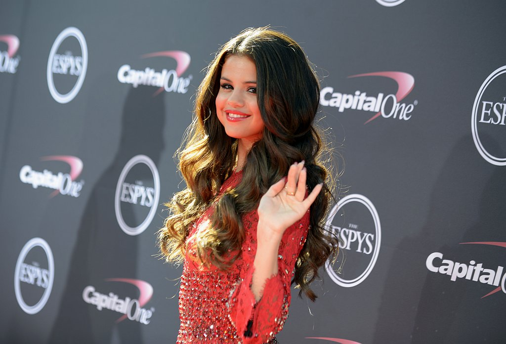 . Singer Selena Gomez arrives at the ESPY Awards on Wednesday, July 17, 2013, at Nokia Theater in Los Angeles. (Photo by Jordan Strauss/Invision/AP)